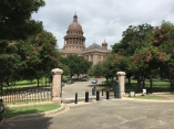 This is the same retractable bollard setup as the exits at the front of the Capital grounds.