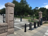 Outside the Texas State Capitol grounds, Austin, TX