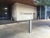Outside the J.W. Mariott, Austin, TX